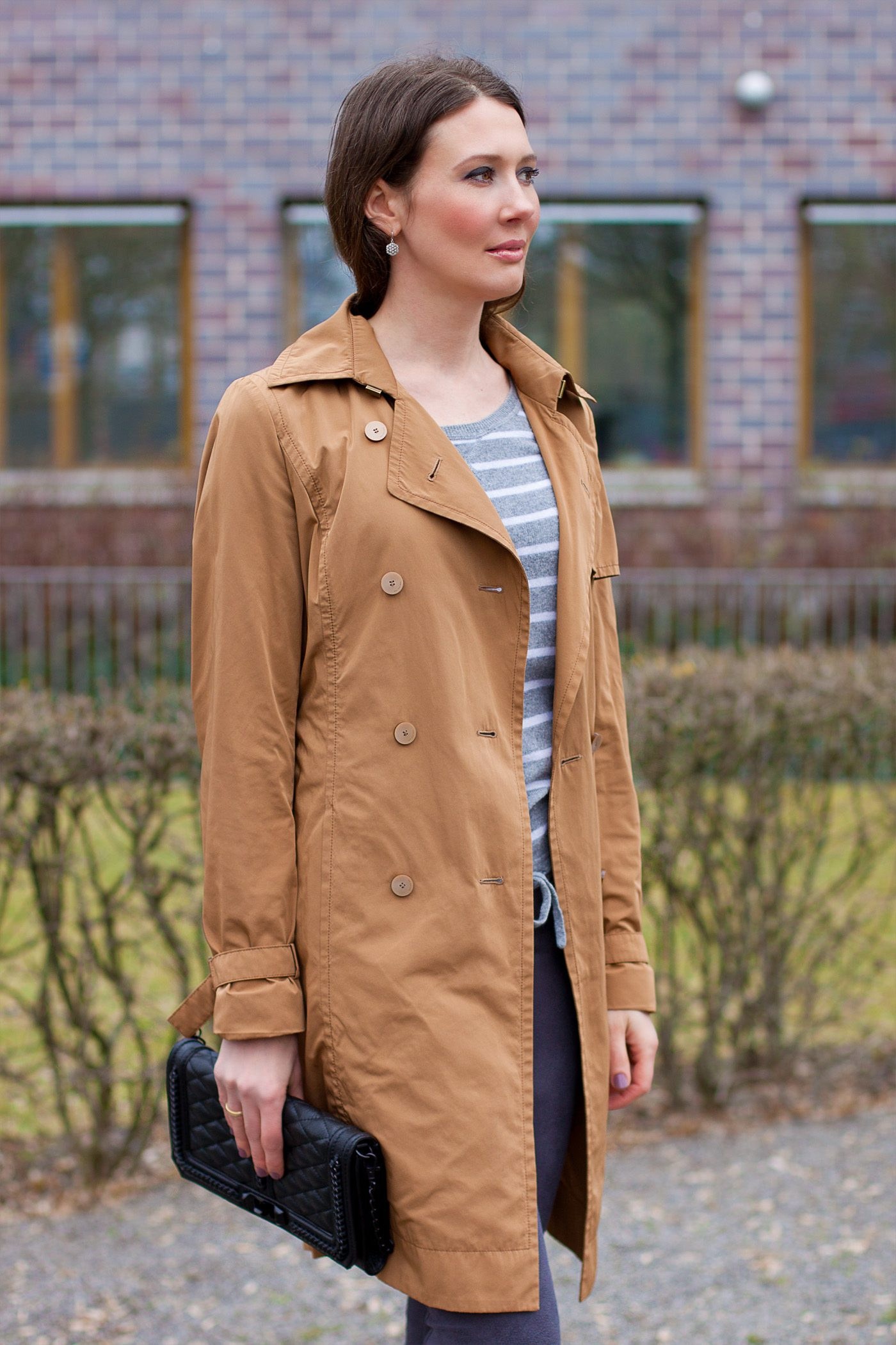 Hugo Boss Trenchcoat Meets Rebecca Minkoff Bag Mood For Style Fashion Blog From Germany