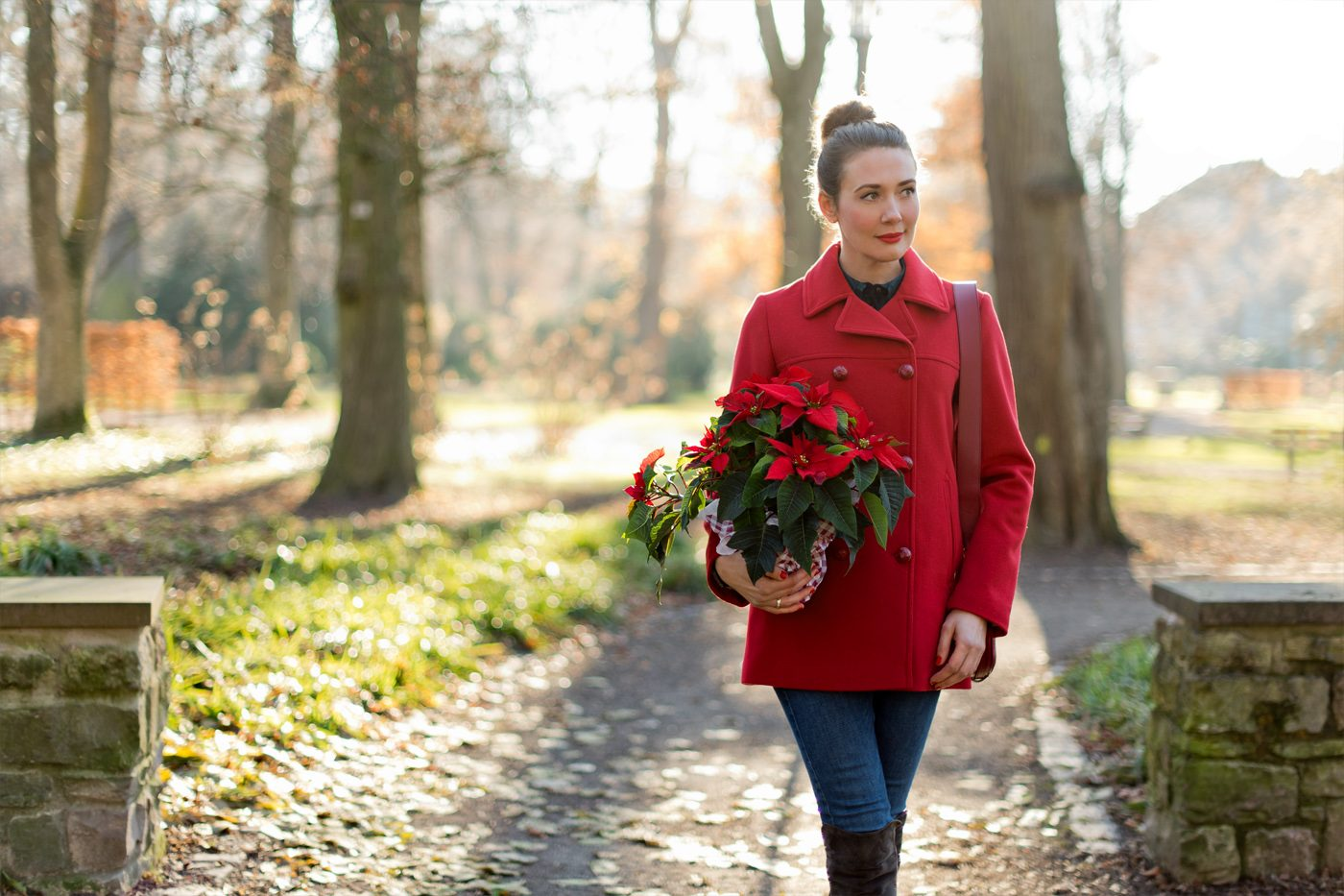 Outfit: December Roses