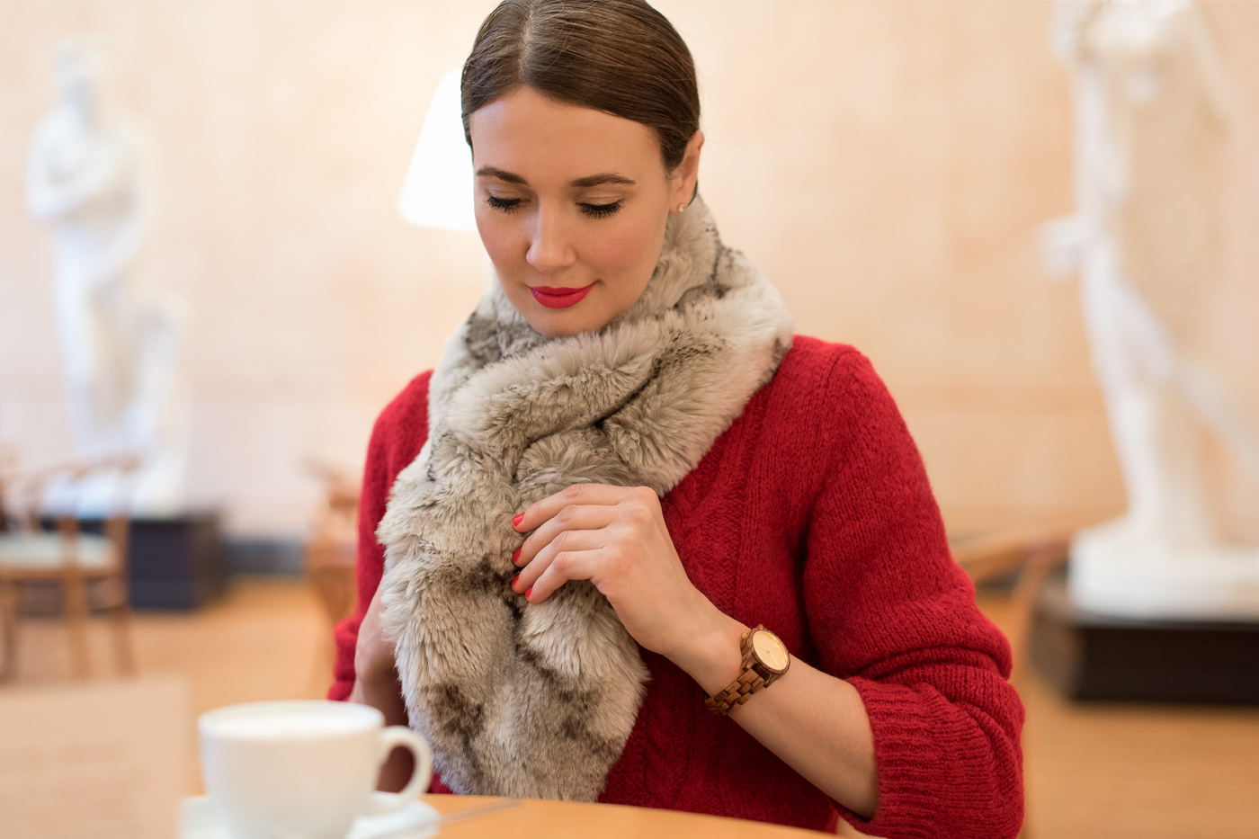 Outfit: Time Out at the Café Greco  Mood For Style - Fashion Blog from Germany