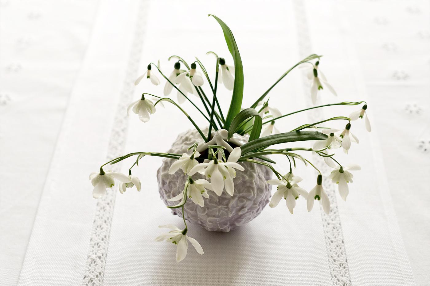 schneegloeckchen strau royal copenhagen vase hortensie 5 mood for style fashion blog from. Black Bedroom Furniture Sets. Home Design Ideas
