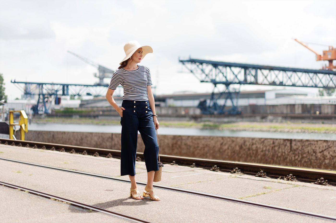Outfit: Stripes and Nautical Details