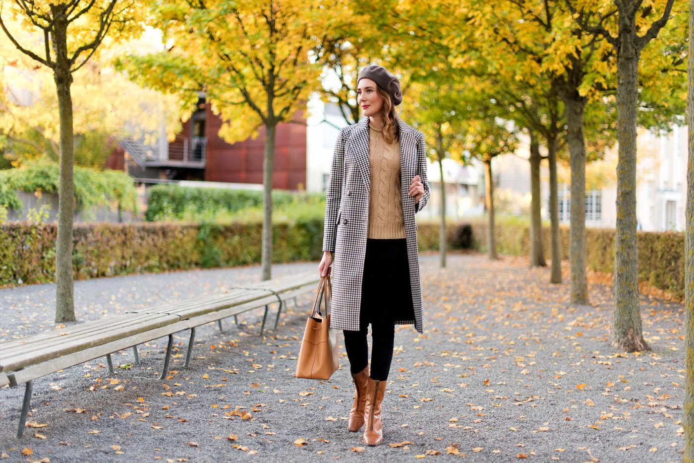 Outfit: Perfect Plaid Coat for Fall