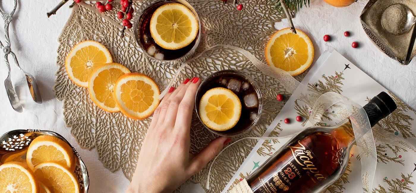 Food: Zacapa Old Fashioned