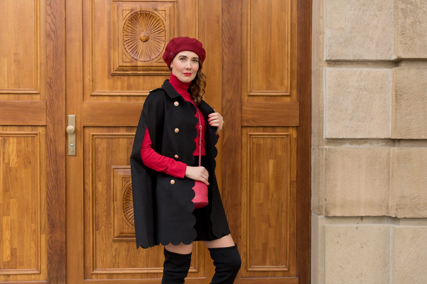 Outfit: Red and Black