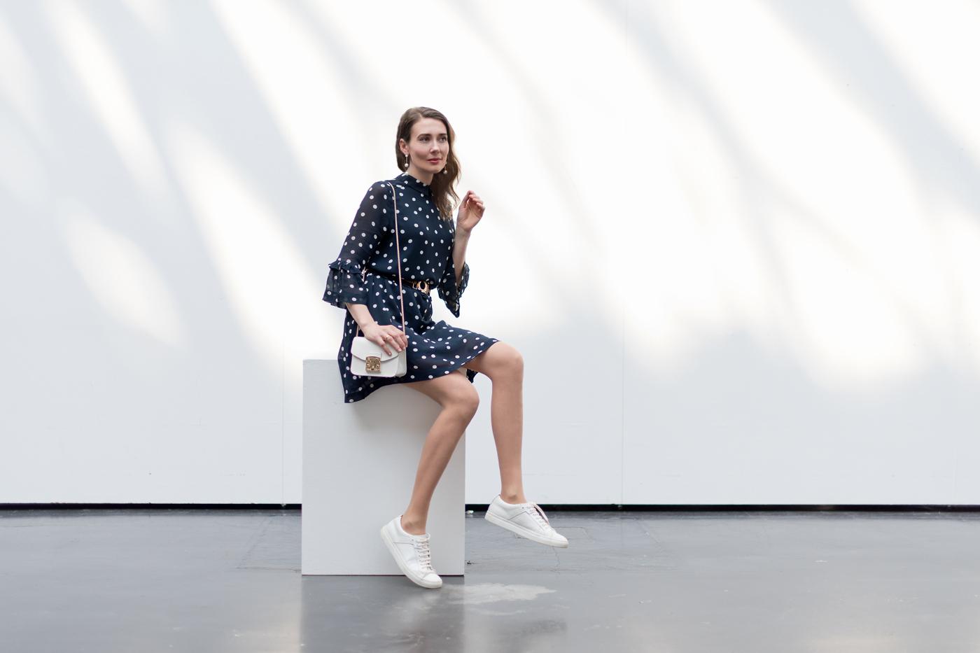 Outfit: Polka Dots Dress