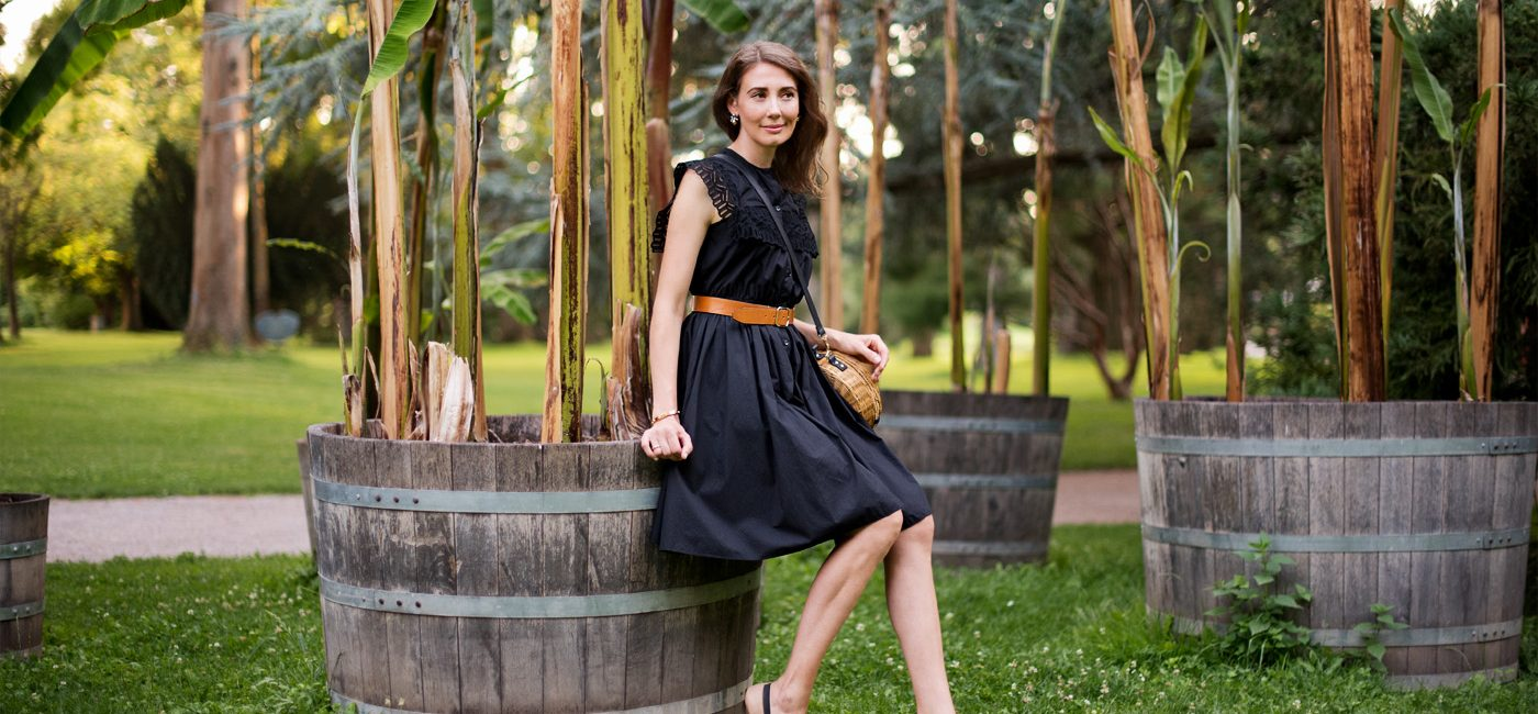 Outfit: Black Summer Dress