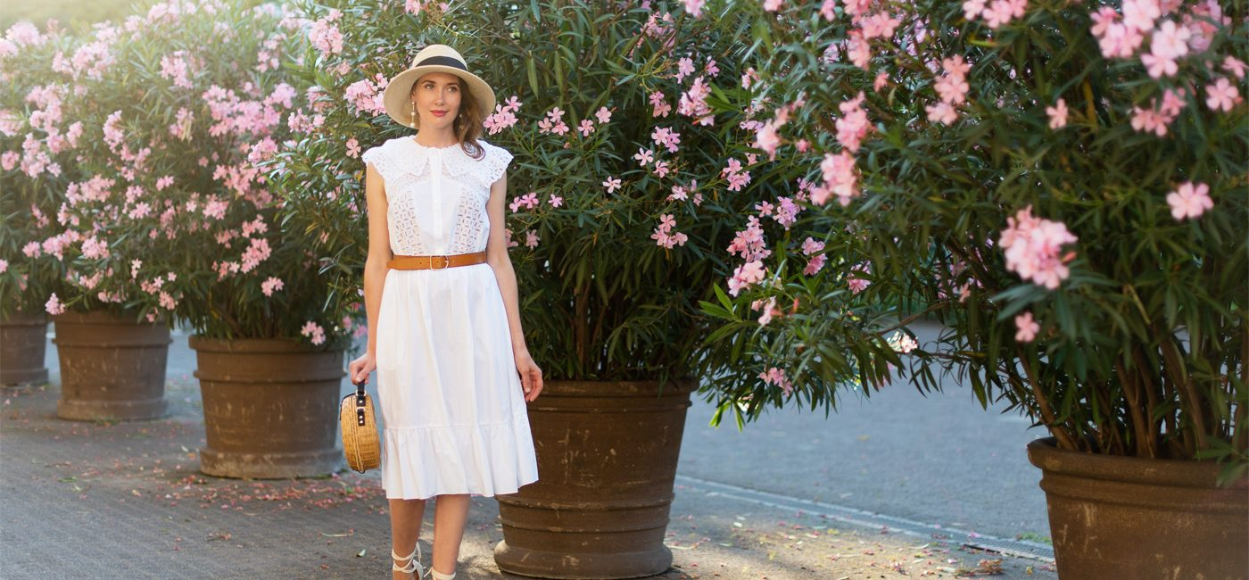 Outfit: The Perfect White Summer Dress