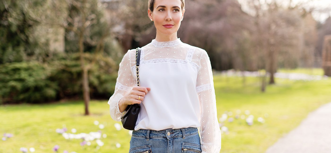 Outfit: The Perfect Lace Top for Spring