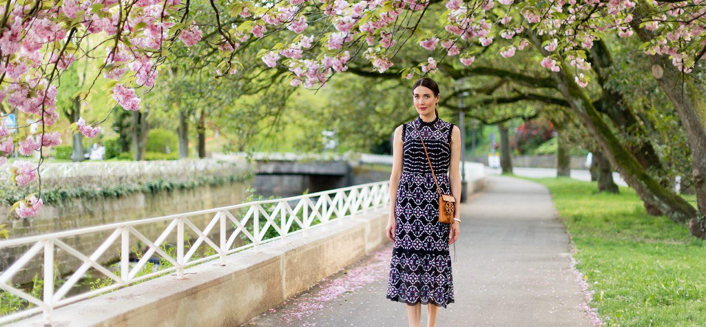 Outfit: Springtime in Baden-Baden