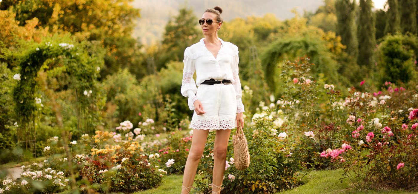 Outfit: White Lace
